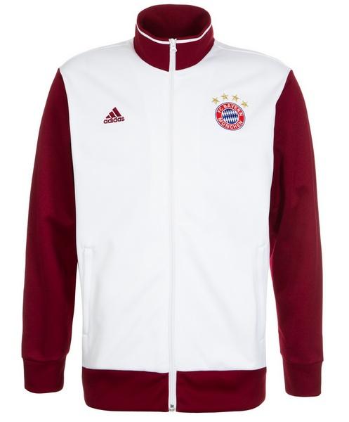4b70d7d665 Férfi fehér kabát white 3S Trk Top Bayern München, adidas - FAN-store.hu
