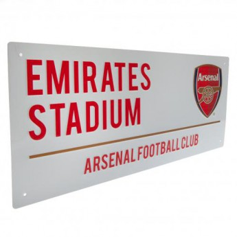 FC Arsenal fali tábla Street Sign