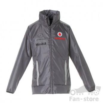 Vodafone Mclaren Mercedes szürke férfi kabát