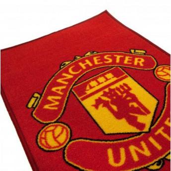 Manchester United lábtörlő rug logo