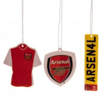 FC Arsenal autóillatosító 3pk Air Freshener