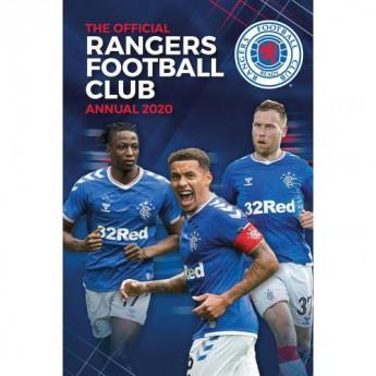 FC Rangers könyv évkönyv Annual 2020