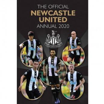 Newcastle United könyv évkönyv Annual 2020
