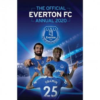 FC Everton könyv évkönyv Annual 2020