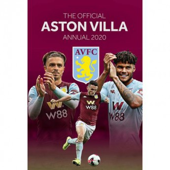 Aston Villa könyv évkönyv Annual 2020