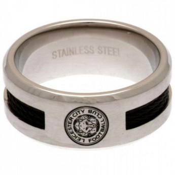 Leicester City gyűrű Black Inlay Ring Large