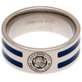 Leicester City gyűrű Colour Stripe Ring Large