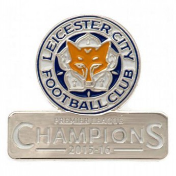 Leicester City jelvény Badge Champions