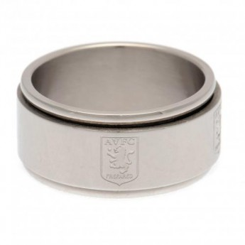 Aston Villa gyűrű Spinner Ring Small