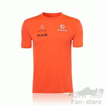 Vodafone McLaren Mercedes narancssárga csapat póló
