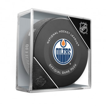 Edmonton Oilers korong Official Game Puck 2019-2020