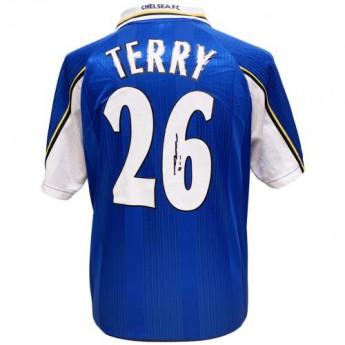 Legendák futball mez Chelsea FC Terry 1998 Signed Shirt