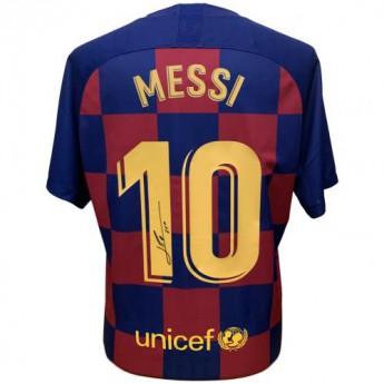 Legendák futball mez FC Barcelona Messi 2019-2020 Signed Shirt