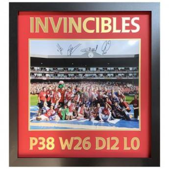 Legendák kép keretben Arsenal FC 2004 Invincibles Signed Framed Print
