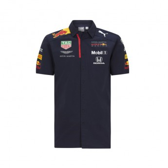 Red Bull Racing férfi ing hemd navy F1 Team 2020