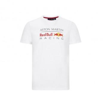 Red Bull Racing férfi póló logo white F1 Team 2020
