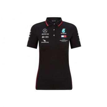 Mercedes AMG Petronas női póló black F1 Team 2020