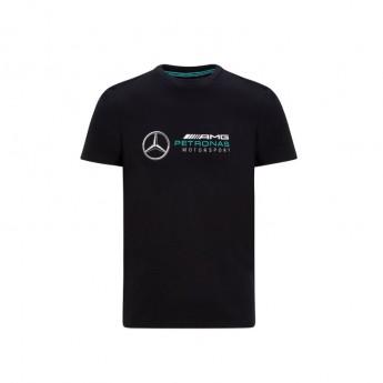 Mercedes AMG Petronas férfi póló logo black F1 Team 2020