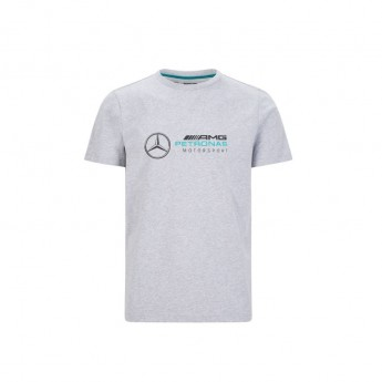 Mercedes AMG Petronas férfi póló logo grey F1 Team 2020