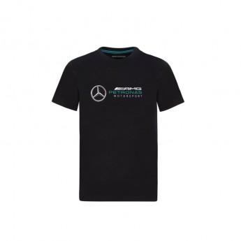 Mercedes AMG Petronas gyerek póló logo black F1 Team 2020