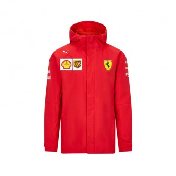 Ferrari férfi kapucnis kabát rain red F1 Team 2020