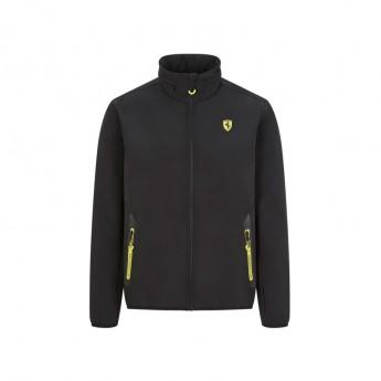 Ferrari férfi kabát logo softshell black F1 Team 2020