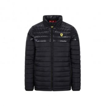 Ferrari férfi kabát Padded black F1 Team 2020
