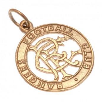 FC Rangers arany medál 9ct Gold Pendant Round Crest