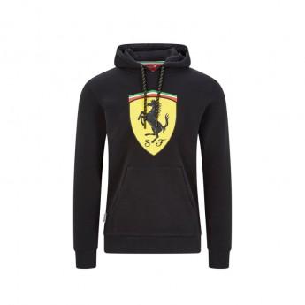 Ferrari férfi kapucnis pulóver shield black F1 Team 2020