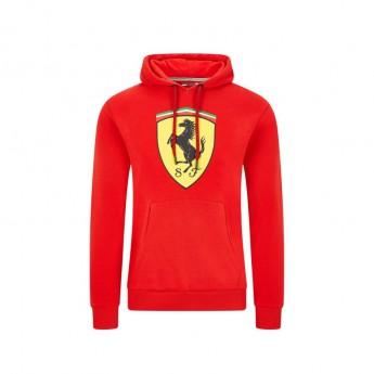 Ferrari férfi kapucnis pulóver shield red F1 Team 2020