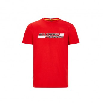 Ferrari férfi póló logo red F1 Team 2020