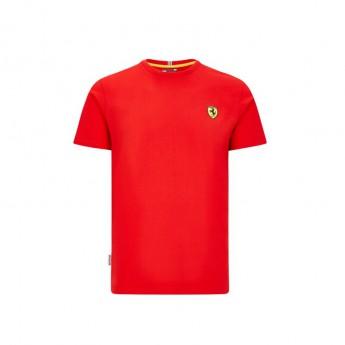Ferrari férfi póló small logo red F1 Team 2020