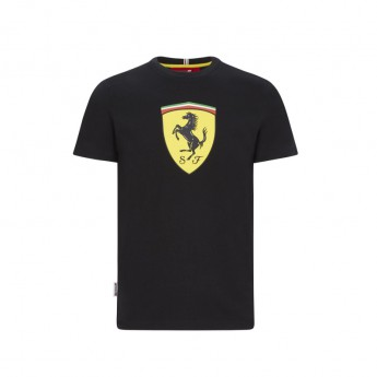 Ferrari férfi póló large shield black F1 Team 2020