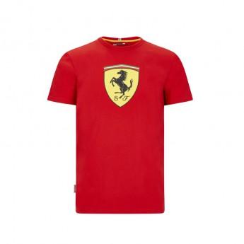 Ferrari férfi póló large shield red F1 Team 2020
