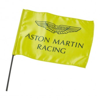 Aston Martin zászló lime green F1 Team 2019