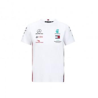 Mercedes AMG Petronas gyerek póló white F1 Team 2020