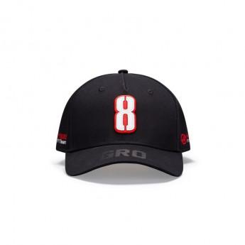 Haas F1 baseball sapka Grosjean black F1 Team 2020