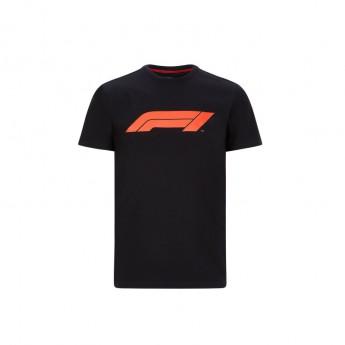 Forma 1 férfi póló logo black 2020