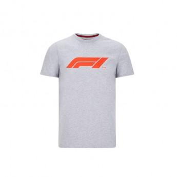 Forma 1 férfi póló logo grey 2020