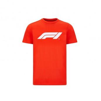 Forma 1 férfi póló logo red 2020