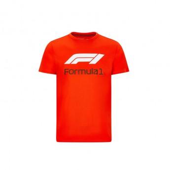 Forma 1 férfi póló No. 1 red 2020