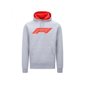 Forma 1 férfi kapucnis pulóver logo grey 2020