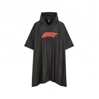 Forma 1 női kabát Poncho black 2020