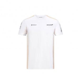 Mclaren Honda férfi póló white F1 Team 2020