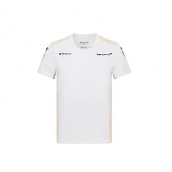 Mclaren Honda gyerek póló white F1 Team 2020