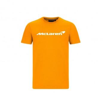 Mclaren Honda férfi póló Essentials orange F1 Team 2020