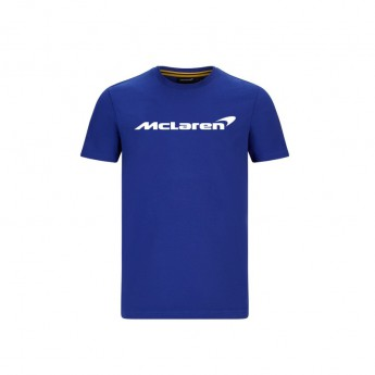 Mclaren Honda férfi póló Essentials blue F1 Team 2020