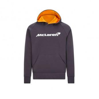 Mclaren Honda férfi kapucnis pulóver Essentials grey antracit F1 Team 2020
