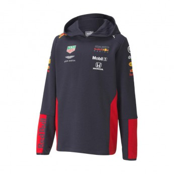 Red Bull Racing gyerek kapucnis pulóver navy F1 Team 2020