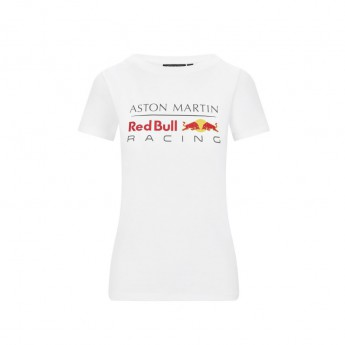 Red Bull Racing női póló logo white F1 Team 2020